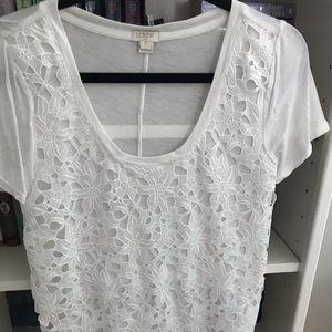Tops - Jcrew white shirt